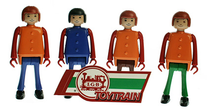 Toy Train Figurenset LGB 90785-E001