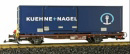 Speditions Containerwagen LGB 40893