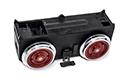 B-Getriebe mit Motor und rote Räder LGB 66095-E499