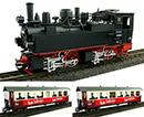 HSB Lokset Mallet 2x Wagen digital Zimo Sound Train Line 2011412
