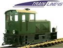 Deutz Diesellok grün, digital mit Licht 2021100-E997