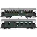 Wappenwagen 902-303 und 900-458 DR Train Line 3040700