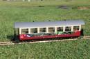 Wagenset grün// braun Spur G Train Line Güterwagen 930501021